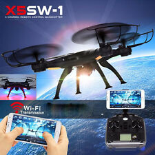 X5SW-1 6 Axis Gyro 2.4G 4CH Real-time Video RC FPV Quadcopter Drone HD Camera