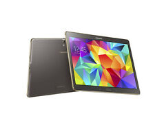 """Samsung Galaxy Tab S SM-T807T 16GB Bronze T-Mobile 10.5"""" Tablet Good Condition"""