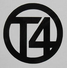4 x VW T4 Logo Car Stickers Decals Body Panel, Decal, Graphic, Window/Windscreen