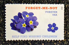 2015USA  #4987  Forever - Forget Me Not - Help Find Missing Children  Mint NH