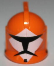 LeGo Star Wars Orange Bomb Squad Trooper Helmet Clone Head Gear NEW