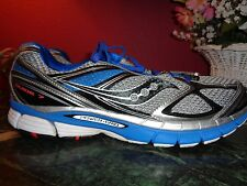 SAUCONY POWER GRID 11.5 M in royal blue,black,silver & red accents xlnt cond