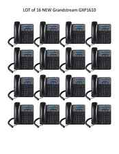 LOT of  16 New Grandstream GXP1610 2-Line HD - SIP IP Phone - FREE SHIPPING