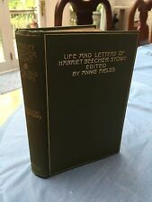 1899 Life And Letters Of Harriet Beecher Stowe Uncle Tom's Cabin