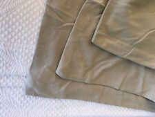 Full Beige Khaki Organic Duvet Comforter Cover Jersey Knit Cotton Company Store