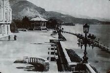 The Terraces of the Casino Monte Carlo, Monaco, Magic Lantern Glass Slide