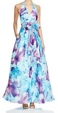 Carmen Marc Valvo New Sleeveless Printed Gown Size 10 MSRP $416 #BN 382