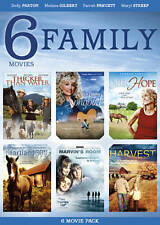 6 Family Movies (DVD, 2012, 2-Disc Set) New / Sealed!