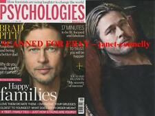 BRAD PITT Rachel Kelly SIR RICHARD BRANSON Psychologies Mag (November 2014)