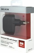 Belkin Universal USB Wall Charger Adapter EU 2 Pin iPhone 7 6S Plus 6 5S 5 5C -B