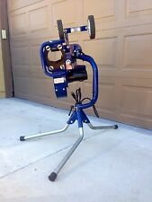 BATA Baseball/Softball Pitching Machine Model B1 Curveball, Dimple balls, Feeder