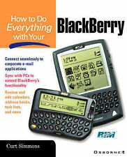 How to Do Everything with Your Blackberry (HTDE) Very Good Book
