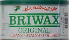 BRIWAX ORIGINAL FORMULA PASTE WAX  *CLEAR* 1 lb CAN  BR-1-CL