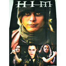 HIM ROCK METAL TEXTILE FLAG POSTER 100X150CM UK SELLER