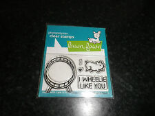 Lawn Fawn Wheelie like you   clear stamp