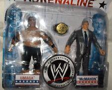 WWE Umaga + McMahon  Figuren-Set+Zubehör, ca. 18 cm  Wrestling---Neu,OVP,RARITÄT