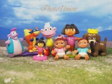 DORA THE EXPLORER & Friends Set 8 Figure Model Cake Topper Decoration K364_Set8
