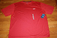 NWT Mens REEBOK PLAYDRY Heathered Red Crew Neck Short Sleeve T-Shirt Sz 3XL XXXL