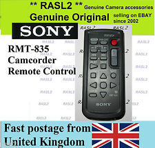 ORIGINALE Sony rmt-835 Wireless Remote Control Handycam HDR SR PC DVD HC Serie