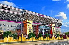 "West Ham United. Alpari Stand, Boleyn Ground - Former Home of ""The Hammers"""