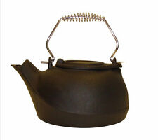 Cast Iron Kettle Humidifier 2.5L Black Woodburner Stove Fire Log Wood Burner