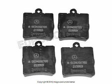 Mercedes r171 w203 non-sport Brake Pad Set Rear GENUINE oem friction pads