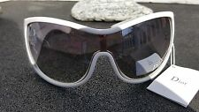 CHRISTIAN DIOR WOMANS SUNGLASSES NEW AUTHENTIC WHITE WITH BAG HIGH END FASHION