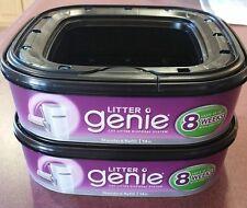 2pk Litter Genie refill kits Brand New !
