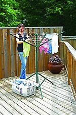 Outdoor Dryer Clothes Portable Rotary Clothesline Laundry Line Drying Rack New