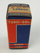 NOS Tung-Sol 12A8GT Pentagrid-Converter Heptode Radio Tube NEW IN BOX