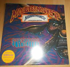 MONSTER Magnet Superjudge – - LP-LIMITED EDITION-RED VINYL-SEALED 1993