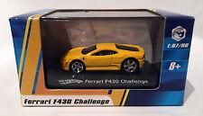 Ferrari F430 Challenge (Yellow) Hot Wheels 1/87 scale