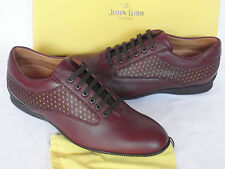 NEW John Lobb Aston Martin Winner Red Leather Driving Shoes UK 10 W Wide £560