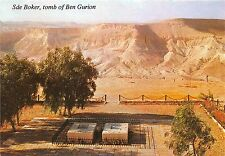 BG9563 sde boker the toms of david and paula ben gurion   israel