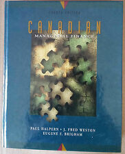 Canadian Managerial Finance 4th Edition