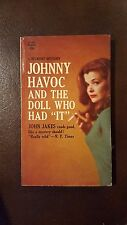 """John Jakes, """"Johnny Havoc and the Doll That Had """"It"""","""" 1963, Belmont 90-283, VG,"""