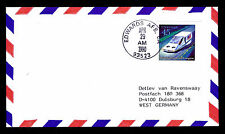 1990 LANDING DISCOVERY STS-31 - EDWARDS AFB, CA - C126B FRANKING (ESP#3111)