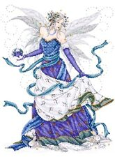 """Design Works Counted Cross Stitch kit 12"""" x 15"""" ~ ICE FAIRY Sale #2739"""