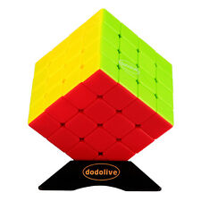 4x4x4 Intelligence Vivid Colors Stickerless Speed Puzzle Magic Cube