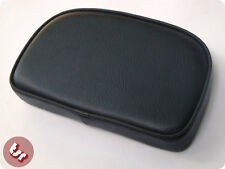 VESPA/LAMBRETTA TSR Rear Rack Back Rest Pad Black