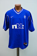 GLASGOW RANGERS SCOTLAND 1999/2000/2001 HOME FOOTBALL SHIRT JERSEY NIKE