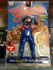 LJN Grand Toys WWF Wrestling Superstars Figures Hillbilly Jim JC