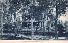 Laramie,Wyoming,A 3-Story Residence,Albany County,c.1909