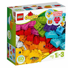 10848 Lego Duplo My First My First Bricks 80 Pieces Age 1½-3 New For 2017!