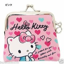 HELLO KITTY PORTE MONNAIE  COIN PURSE POUCH SANRIO PINK  JAPAN RARE LIMITED