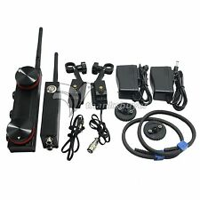 200M Dual Channel Wireless Follow Focus Electronic Remote Control f/ DSLR Camera