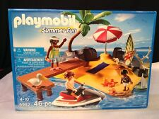 NEW PLAYMOBIL # 5992 Holiday Island Summer Fun 46 piece Ages 4-10 Factory Sealed
