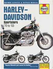 HAYNES Repair Manual - Harley-Davidson Sportster 883/1000/1100/1200 (1970-2010)