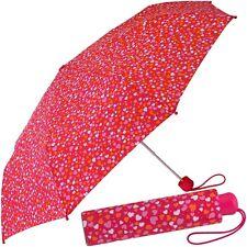 ESPRIT Mädchen-Schirm, Kinder-Regenschirm (stabil&leicht), Taschenschirm Rot NEU