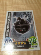 STAR WARS Force Awakens - Force Attax Trading Card #050 Interrogation Droid